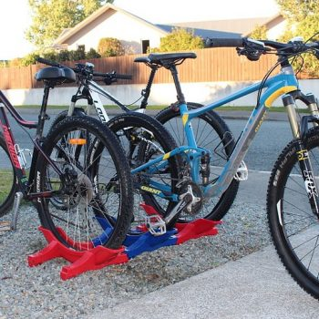 MTB Stand join together bike storage